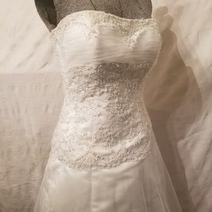 Maggie sottero imperial wedding down